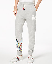 Tommy Hilfiger Denim Men's Slim-Fit Graffiti Jogger Pants, Created for Macy's