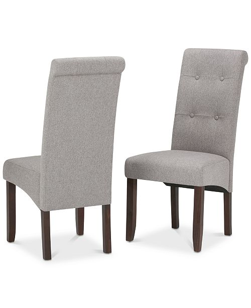 Simpli Home Verona Dining Chair (Set of 2)