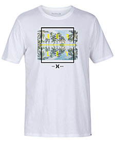 Hurley Men's Palm Tree Reflection Graphic T-Shirt