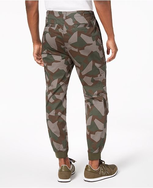 A X Armani Exchange X Armani Exchange Men S Camo Cargo Pants