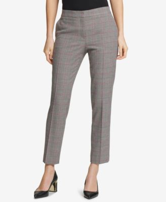 Plaid Skinny Ankle Pants, Created for Macy's