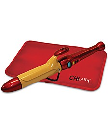 "CHI AIR Texture Tourmaline Ceramic Curling Iron 1-1/2"", from PUREBEAUTY Salon & Spa"