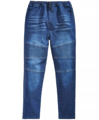 Big Boys Drawstring Jeans, Created for Macy's