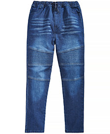 Epic Threads Big Boys Drawstring Jeans, Created for Macy's