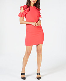 Trina Turk Cold-Shoulder Dress