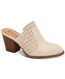 Style & Co Women's Joelynn Perforated Mules, Created for Macy's