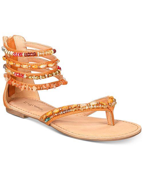 cc18d800a898 ZIGIny Zigi Soho Talisa Flat Sandals   Reviews - Sandals   Flip ...