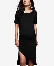 BB Dakota Maternity Asymmetrical Dress