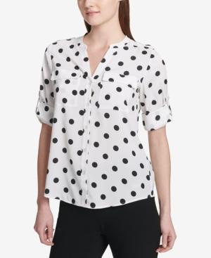 Calvin Klein Dot-Print...