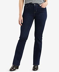 Women's Curvy Bootcut Jeans