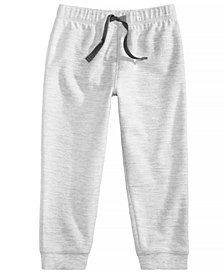 First Impressions Toddler Boys Heathered Jogger Pants, Created for Macy's