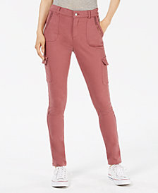 American Rag Juniors' Structured Cargo Pants, Created for Macy's