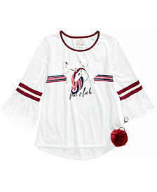 Belle Du Jour Big Girls 2-Pc. Bell-Sleeve Top & Keychain Set
