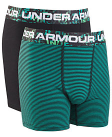 Under Armour Big Boys 2-Pack Charged Cotton® Boxerjocks