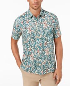 Tasso Elba Parmino Floral Shirt