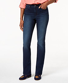 Charter Club Curvy Straight-Leg Jeans, Created for Macy's