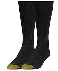 Gold Toe Men's 2-Pk. Dress Crew Socks