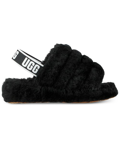 3be85ef68c7f UGG® Women s Fluff Yeah Slides   Reviews - Slippers - Shoes - Macy s