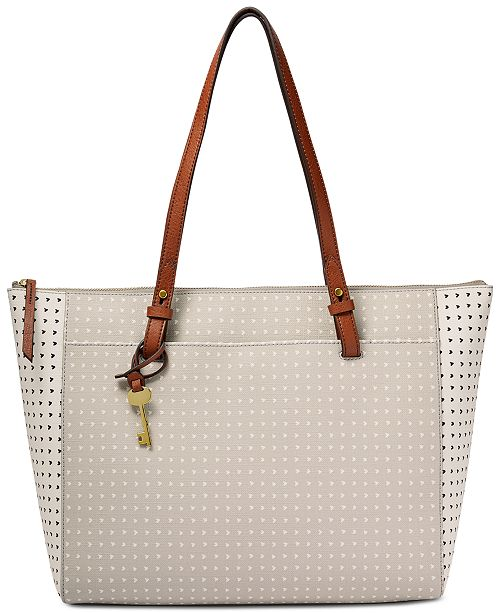 99365be79 Fossil Rachel Large Tote & Reviews - Handbags & Accessories - Macy's
