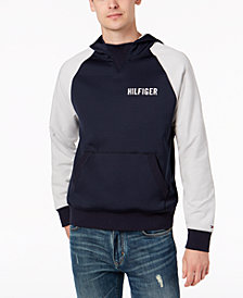 Tommy Hilfiger Men's Raleigh Reversible Drawstring Hoodie, Created for Macy's