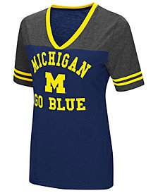 Colosseum Women's Michigan Wolverines Whole Package T-Shirt