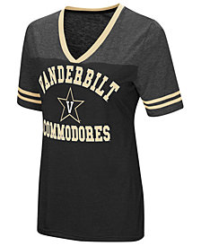 Colosseum Women's Vanderbilt Commodores Whole Package T-Shirt
