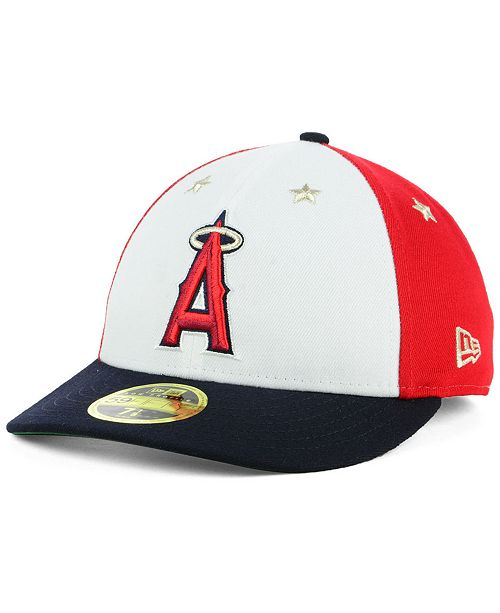 pretty nice 4e2c0 9b896 ... canada new era los angeles angels all star game patch low profile  59fifty ee388 ea674