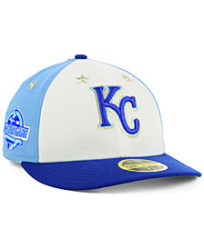 New Era Kansas City Royals All Star Game Patch Low Profile 59FIFTY Fitted Cap 2018