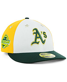 New Era Oakland Athletics All Star Game Patch Low Profile 59FIFTY Fitted Cap 2018
