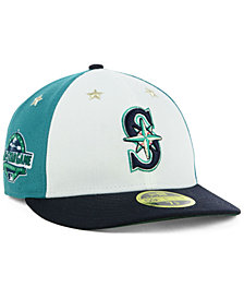 New Era Seattle Mariners All Star Game Patch Low Profile 59FIFTY Fitted Cap 2018