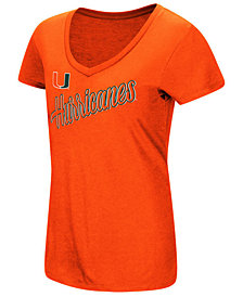 Colosseum Women's Miami Hurricanes Big Sweet Dollars T-Shirt