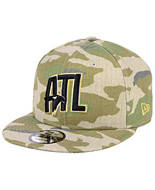 New Era Atlanta Hawks Combo Camo 9FIFTY Snapback Cap