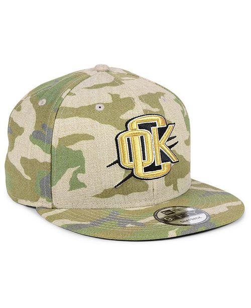 premium selection 2f9e4 d2549 ... New Era Oklahoma City Thunder Combo Camo 9FIFTY Snapback Cap ...