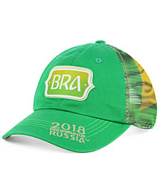 Top of the World Brazil World Cup Flagtacular Snapback Cap 2018