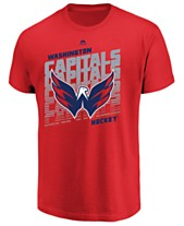 d2c4a4624 Majestic Men s Washington Capitals Penalty Shot T-Shirt