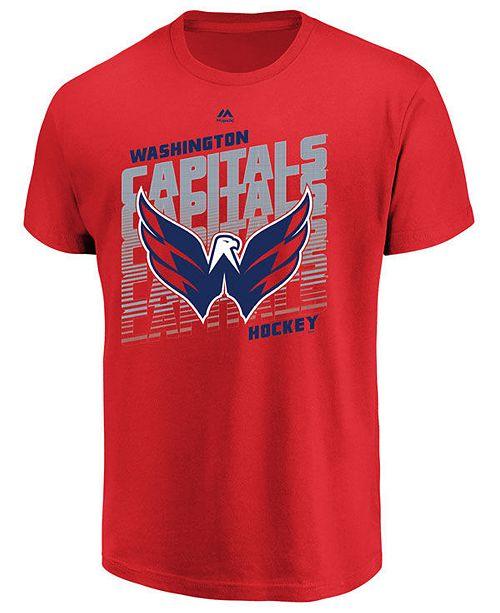 Majestic Men's Washington Capitals Penalty Shot T-Shirt
