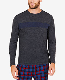 Nautica Men's Space-Dyed Long-Sleeve T-Shirt