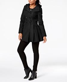 Calvin Klein Petite Skirted Raincoat