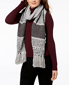MICHAEL Michael Kors Studded Colorblock Scarf