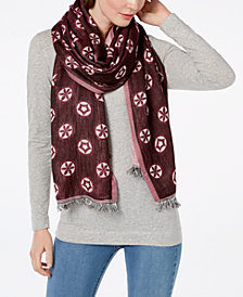 Echo Flower Dot Scarf