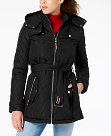 Tommy Hilfiger Hooded Quilted Coat