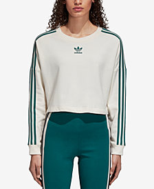 adidas Originals Adibreak Cropped French Terry Sweatshirt