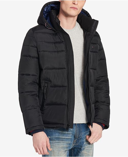 dd2a73a8 ... Tommy Hilfiger Men's Quilted Puffer Jacket, Created for Macy's ...