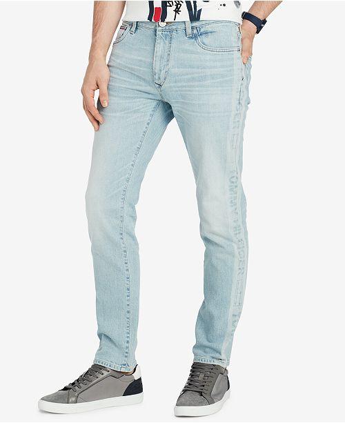 dfb85bd11eedd1 Tommy Hilfiger Men s Slim-Fit Jordan Jeans