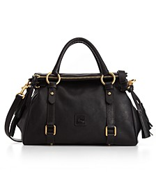Florentine Vachetta Small Leather Satchel