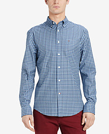 Tommy Hilfiger Men's Wayne Checked Classic Fit Shirt, Created for Macy's