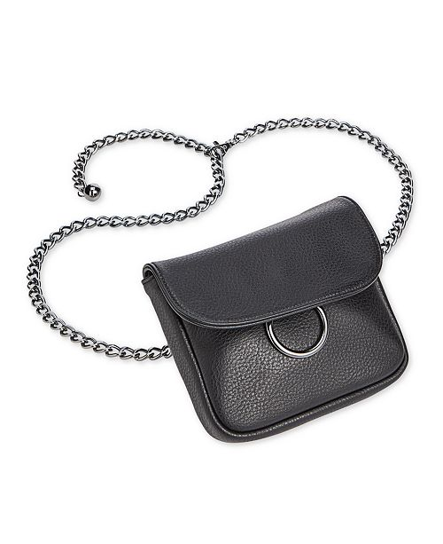 INC International Concepts INC Chain Fanny Pack, Created for Macy's