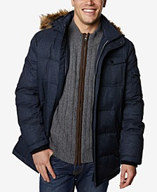 Men's Big & Tall Quilted Hooded Parka