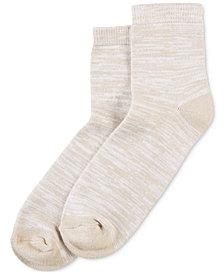 HUE® Women's  Super-Soft Cropped Socks