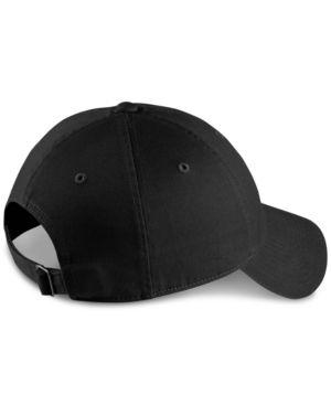 Sportswear Heritage86 Adjustable Back Hat, Women'S, Black, Black/White